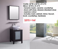 Bathroom Vanities - best prices - includes everythng