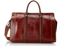 Ted Baker Men's Igoola Holdall Bag, Dark Orange, One Size