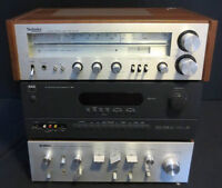 Amp, Receiver, Speaker & TV Lot