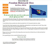 Freedom Motorcycle Tires Tire changing service Red Deer AB