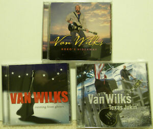 Van Wilks - CD's - Heavy Rock Blues Guitarist from Texas