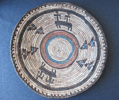 African Hausa Nigeria Woven Coil Basket