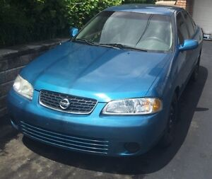 2003 Nissan Sentra *E tested and safetied*