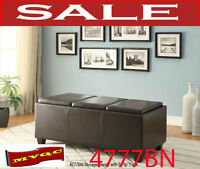 4777, storage bench, 3 trays, futon, chaises, chairs divan, mvqc