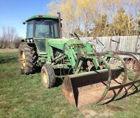 JOHN DEERE 2950 WITH LOADER AND GRAPPLE-LIST PRICE $19,998.00