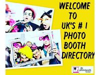 Book a photo booth from only £199 Save ££££'s with us