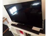 "Samsung 46"" 1080 full HD Smart LED TV + Samsung soundbar"