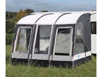 Kampa Rally Pro 330 caravan porch awning & groundsheet