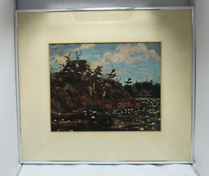 "Tom Thomson Print ""The Lily Pond""  Group Of 7 Artist"
