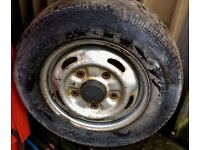 Transit Wheels + Legal Tyre!! ** ARCTIC COMMERCIALS**