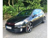 VOLKSWAGEN GOLF GTI TSI S-A DSG REAR GOLF LED LIGHTS & GOLF R ALLOYS SATNAV LEATHER FSH