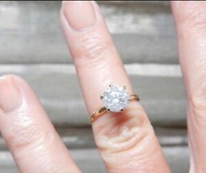 1.30ct Diamond Solitaire engagement ring