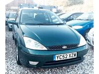 ★ NEW IN ★🎁★2002 FORD FOCUS 1.6 ZETEC PETROL ★MOT JAN 2017★ AIR-CON ★ RELIABLE RUNNER ★KWIKI AUTOS★