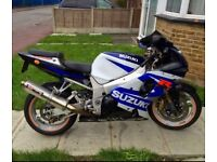 Gsxr 1000 2002 35k fsh may px swap classic mini or bike £2695
