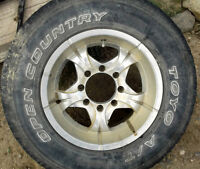 4 3/4 Ton 9in Wide Rims on Tires for Sale