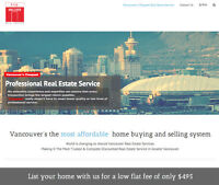 Sell your house or condo for $495