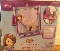 Sofia the first 2 in 1 table top easel.