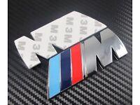 BRAND NEW 3D BMW M Sport Rear Sticker Badge M TECH 1 2 3 5 6 7 8 Series X3 X5 X6