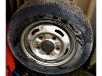 Transit Wheels + Legal Tyres!! **ARCTIC COMMERCIALS**