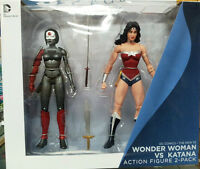 DC The New 52 Justice League: Wonder Woman v Katana 2 pack