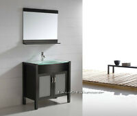 ⎷⎛Contemporary Bathroom Vanity & Cabinet Emprosario CA001