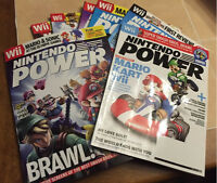 Lot of 7 Nintendo Power magazines, Nov07-Apr08
