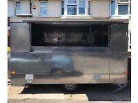 Wilkinson catering trailer burger van