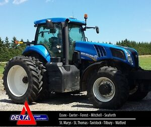 2013 New Holland T8.300 MFD Tractor