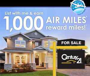List your condo for sale and EARN 1000 AIR MILES®
