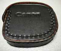 CANON 72mm HAZE-1 FILTER AND LEATHER CANON CASE