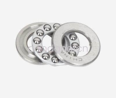 New 2pcs 51107 Single Direction Thrust Axial Ball Bearings 35 X 52 X 12mm