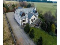Speyburn House - attractive large family 4 bed detached home in Archiestown, Speyside