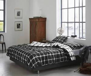 *BRAND NEW* 100%Cotton REVERSIBLE QUILT Cover Set- SINGLE-DOUBLE Rooty Hill Blacktown Area Preview