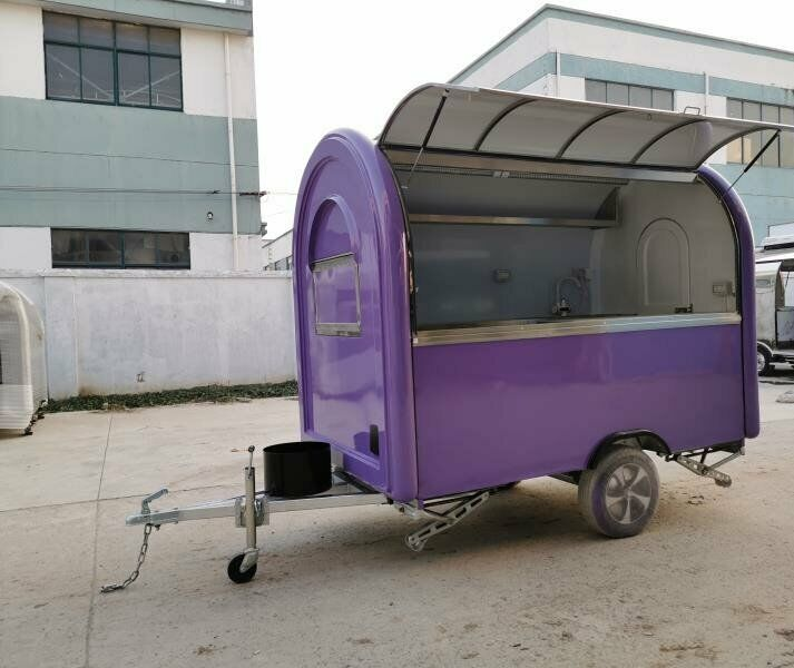 Mobile Catering Trailer Burger Van Ice Cream Bar Coffee Food Trailer