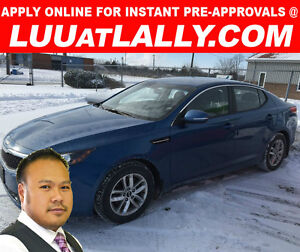 2013 KIA OPTIMA ONLY $109 A WEEK EVEN WITH NO CREDIT