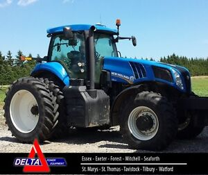 2013 New Holland T8.300 MFD Tractor London Ontario image 1