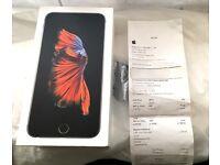 iPhone 6S PLUS 128GB Unlocked+Receipt As New