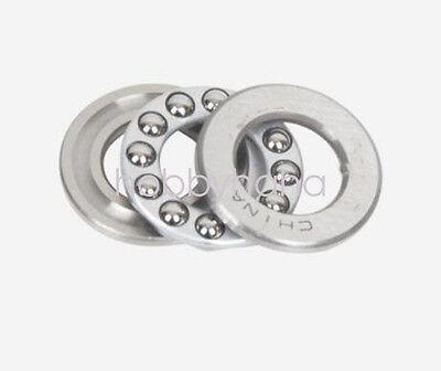 10pcs 51107 Axial Ball Thrust Bearing 3-parts 35mm X 52mm X 12mm