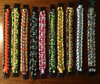 Handcrafted Paracord Bracelets - Assorted -
