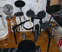 Roland TD-4 and/or Roland TD-5 electronic drum kits