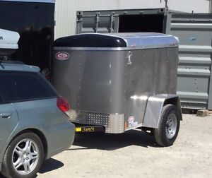 RENT: 4x6 Enclosed Trailer
