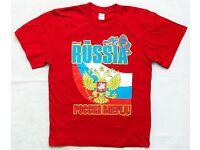 "FORWARD /""RUSSIA/"" Russland T-Shirt Майка//борцовка M1431P-WR101"
