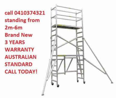 Alu. mobile Scaffold (4m platform height ) for Sale $1120+GST Revesby Bankstown Area Preview