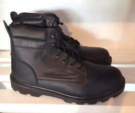 Brand new steel toe cap boots : size 12