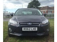 Ford Focus 1.6 TDCi 115 Zetec 2012 service history just been serviced £20 a year to tax bargain