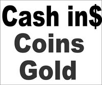 Cash IN$$Buying All Coins-Canada,USA,World