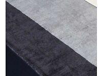 Silver / grey rug