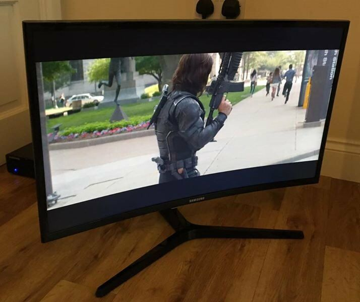 "24"" **CURVED** SAMSUNG C24F396 Full HD 1080p LED Monitor"