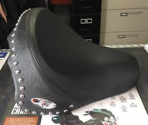 harley seat off a 2005 fatboy fits other softails as well