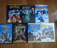 7 kids DVDs lot
